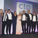 "Co-op employees receiving the CTP Award for ""Overall Best Convenience Retailer"" in 2015"