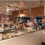 The In-Q Café menu is inspired by international and regional cuisine