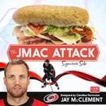 Harris Teeter to debut Carolina Hurricanes center Jay McClement Signature Sub Sandwich