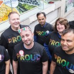 12 Tesco stores along the parade route will also support London Pride this weekend