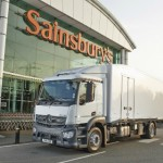 Sainsbury's becomes world's first company to introduce refrigerated delivery truck cooled by a liquid nitrogen powered engine