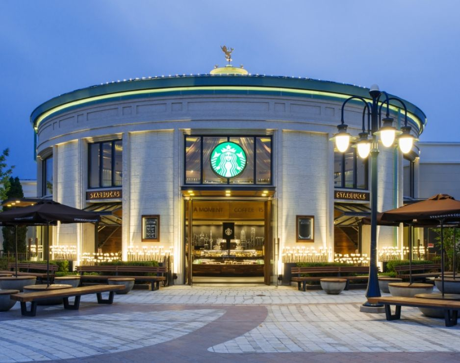 EPR Retail News | Starbucks opens store in the new Disneytown at Shanghai Disney Resort