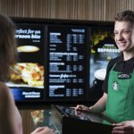 Starbucks opens its first express store in London's Canary Wharf