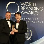 SM Supermalls wins Brand of the Year Award, National Tier 2016-2017 at the World Branding Awards ceremonies in London