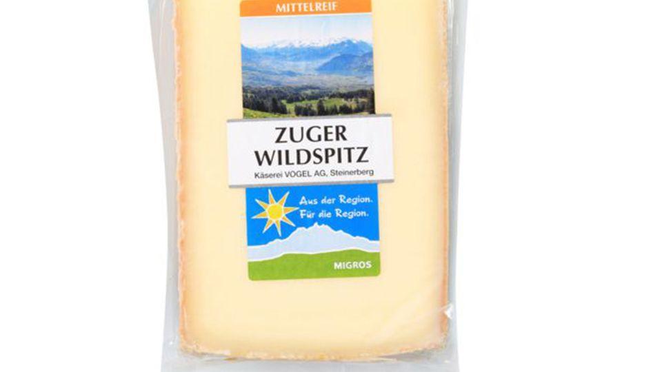 WARENRÜCKRUF: MIGROS LUZERN RUFT ZUGER WILDSPITZ KÄSE