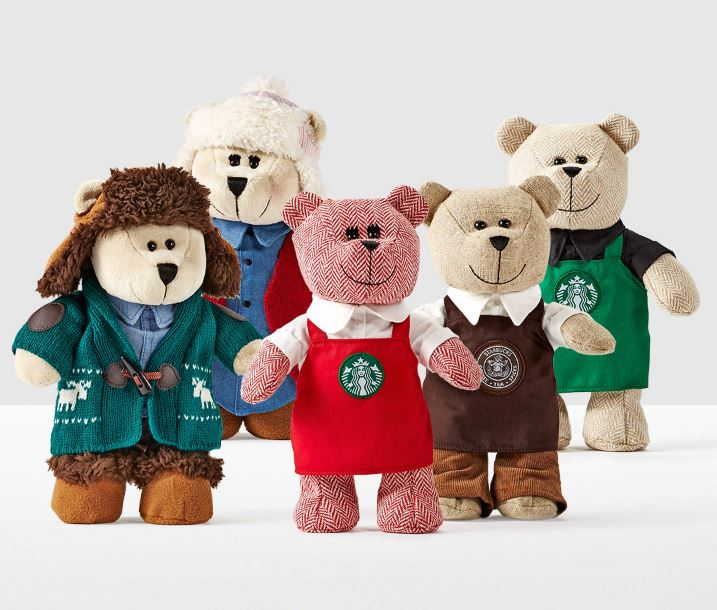 Starbucks announces the return of Bearista Bears