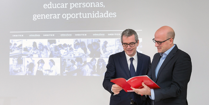 Inditex and Entreculturas NGO renewed partnership that will execute 22 new social projects