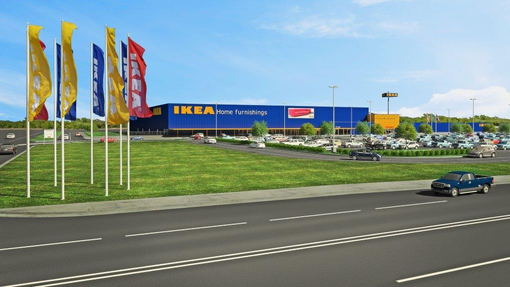 Epr retail news ikea announces plans for its third for Grand home designs fort worth