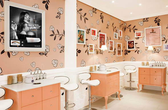 Benefit Cosmetics opens its very first store in France