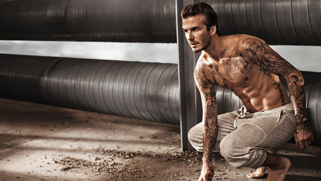 David Beckham stars in new campaign for the spring collection of David Beckham Bodywear at H&M