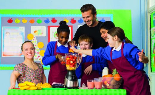 Sainsbury's 2014 voucher collection scheme launches with ambassadors David Beckham and Ellie Simmonds
