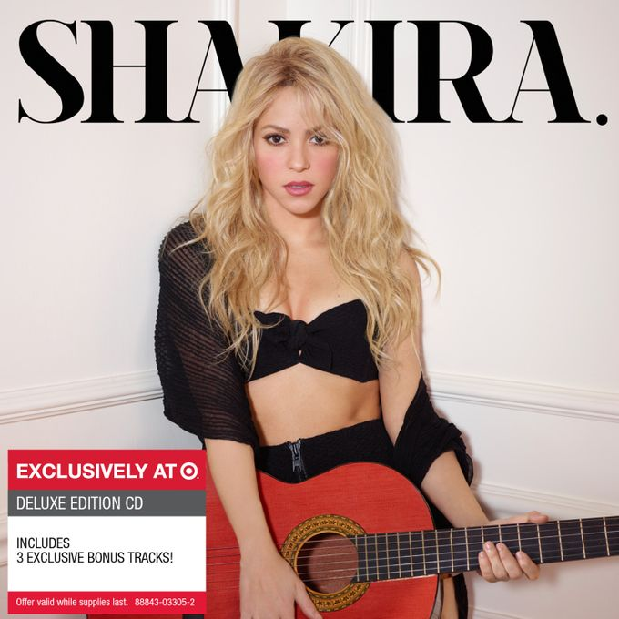 Target and Shakira partner to release exclusive deluxe edition of the award-winning Latin powerhouse's new album