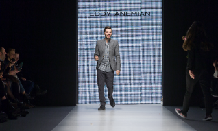 Copyright: © Kristian Löveborg / MBFW Stockholm Description: The winner of the H&M Design Award 2014 is Eddy Anemian, a 24 year-old student at La Cambre in Brussels. Today, in Stockholm, the winning collection was presented with a fashion show at Mercedes-Benz Stockholm Fashion Week.