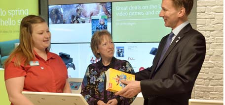 Argos, Homebase, M&S and Lloyds Banking Group to become more dementia friendly