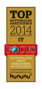 Intershop Communications named one of Germany's best employers according news magazine Focus