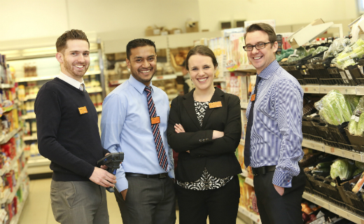 Sainsbury's started major recruitment campaign in London for its convenience stores