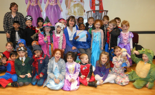 Sainsbury's stores teamed up with children's authors to help schools celebrate World Book Day