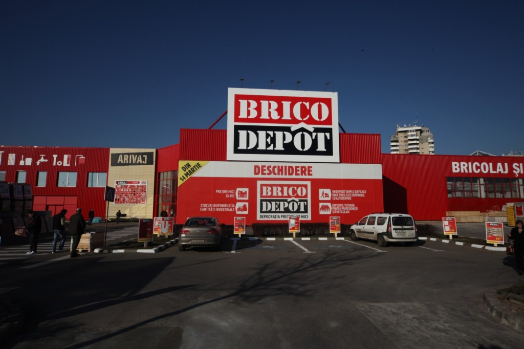 One of two Brico Dépôt stores opened in Bucharest this week, following its transformation from Bricostore