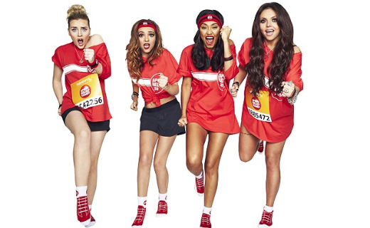 Girl group Little Mix recorded their version of the 1980's classic 'Word Up' to help raise funds for Sport Relief