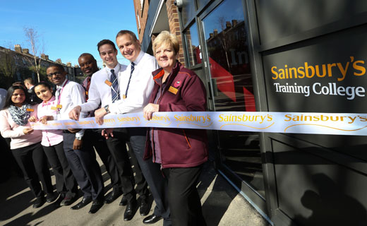 Sainsbury's newly opened Convenience Training College in Brixton to train team leaders and store managers