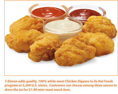 7-Eleven adds Chicken Dippers to their Hot Foods Menu