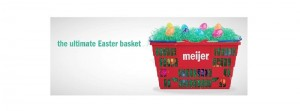 Meijer expects strong sales for Easter basket goodies including candy, toys, and flowers