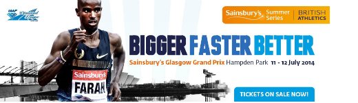 Olympic long jump champion Greg Rutherford and Paralympic 100m silver medallist Libby Clegg to compete at Sainsbury's Glasgow Grand Prix on 11-12th July
