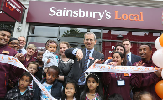 Sainsbury's opened its 200th convenience store in Shepherd's Bush Road in Hammersmith London