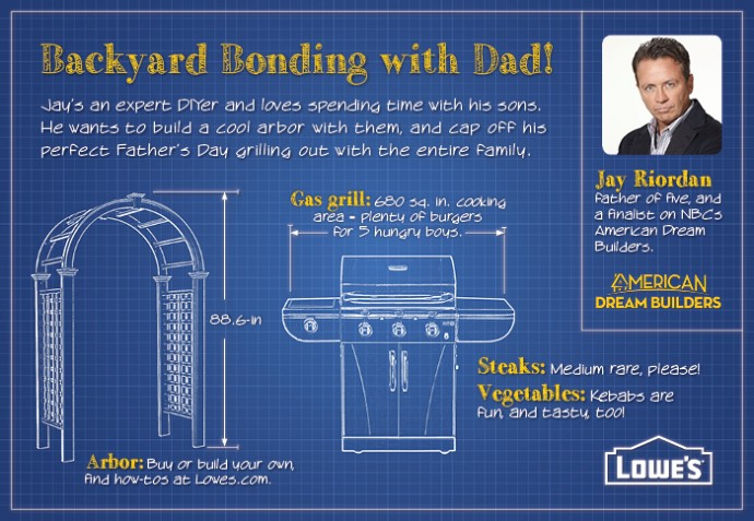 Lowe's and top DIY dads offer project inspiration to make the perfect Father's Day