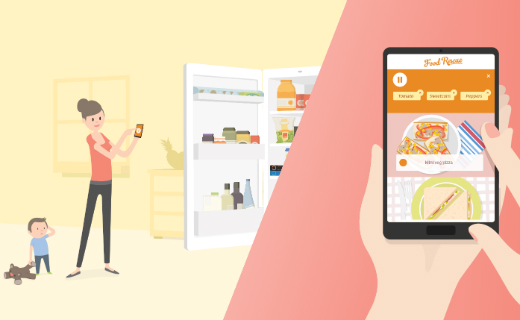 """Sainsbury's launched interactive new mobile and online tool """"Sainsbury's Food Rescue"""" to help Brits waste less"""