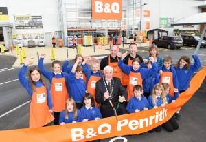 B&Q in Penrith, Cumbria
