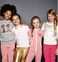 Emma Bunton launches new 26 piece girls' clothing collection for Autumn/Winter 2014 designed exclusively for Argos