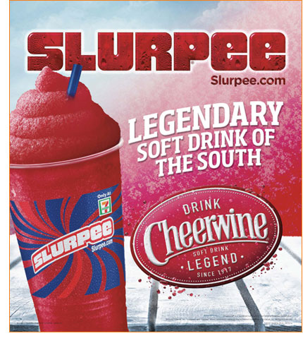 Carolina Cheerwine now available in frozen form at 131 7-Eleven® stores in North and South Carolina