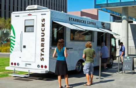 Starbucks mobile truck coming to three college campuses this fall