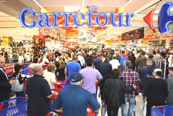 Carrefour Romania opened its 26th Carrefour hypermarket at Vulcan Value Centre in Bucharest