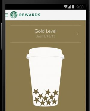 New Starbucks® app for Android™ free and available for download at Google Play
