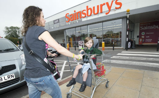 Sainsbury's introduces nearly 600 new trolleys for parents with disabled children to supermarket stores across the UK
