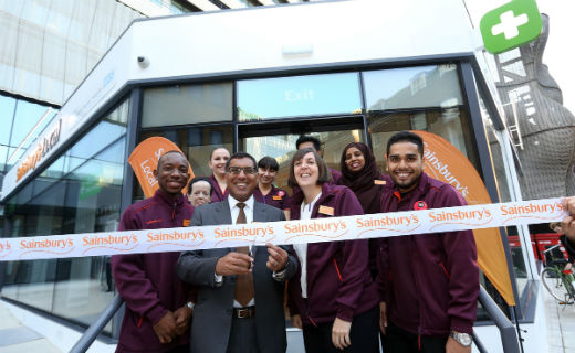 Sainsbury's opens the first combined convenience shop and community pharmacy at Guy's Hospital near London Bridge