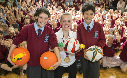 St Thomas' Primary School in Sevenoaks wins bounty of sports and cooking equipment from Sainsbury's Active Kids