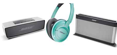 SoundLink Mini Bluetooth Speaker £169.95 (left), SoundTrue Headphones £149.95 (centre), SoundLink Bluetooth Speaker III £259.95 (right) - See more at: http://www.homeretailgroup.com/news-and-media/news.aspx?&article=6490#sthash.HKAmFNFF.dpuf