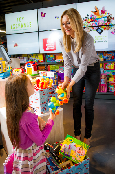 Argos launches third annual Toy Exchange with children's charity Barnardo's
