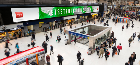 Argos's campaign 'GET SET GO ARGOS': Mobile game from CHI&Partners, Mindshare, Candy Space and Kinetic allows commuters to compete for bundles of Argos prizes