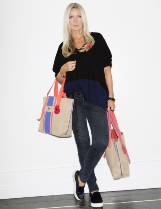 British designer Amanda Wakeley partners exclusively with Sainsbury's to create limited edition tote bags in support of The Royal British Legion