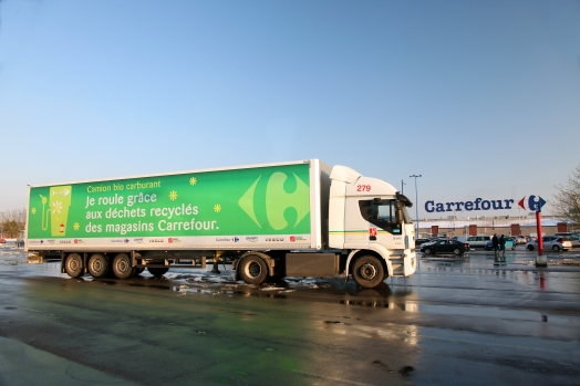 Carrefour ranked at the top in the French magazine Enjeux les Echos's list of companies in the CAC 40 committed to CSR strategy