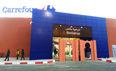 Carrefour's partner and franchisee, Label'Vie group opened its 5th Carrefour hypermarket in Morocco