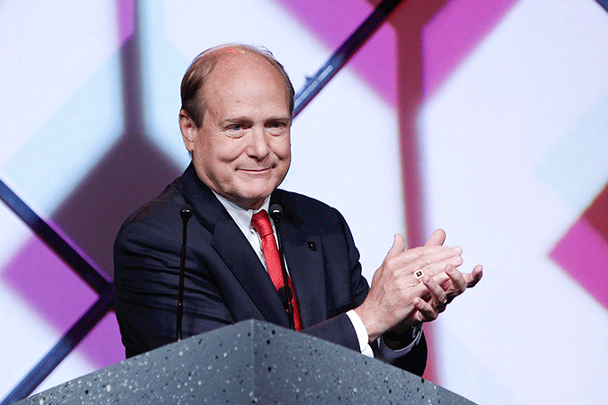 ICSC President and CEO Michael P. Kercheval announced plans to retire in January 2016