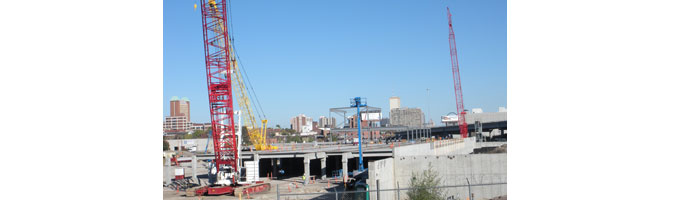 IKEA advances on the construction of its St. Louis store due to open in 2015