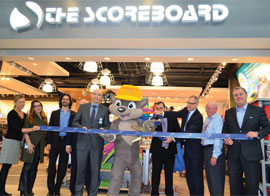 LS travel retail North America opens sports apparel and accessories retail store The Scoreboard in Toronto Pearson International Airport
