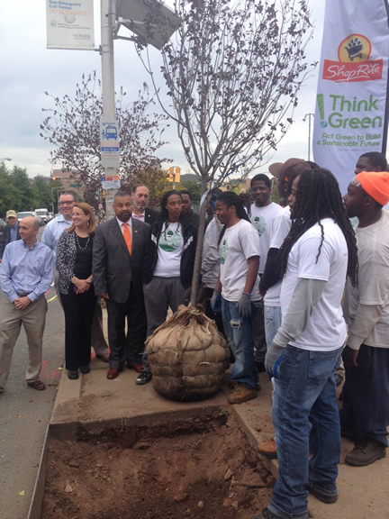 ShopRite and Kimberly-Clark to bring trees to Newark with donation of $50,000 to the Greater Newark Conservancy's summer Urban Tree Tenders intern program