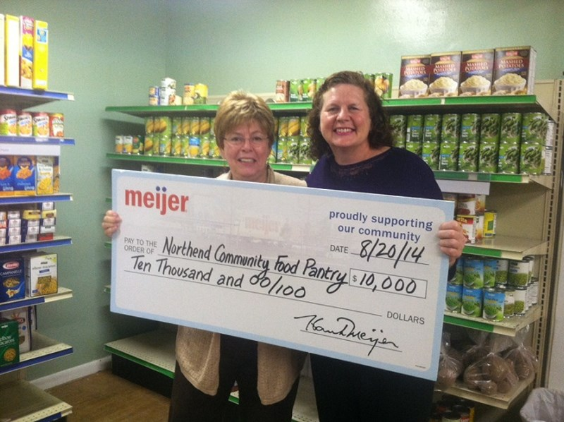The Meijer Simply Give fall campaign generated more than $2.6 million for food pantries throughout the Midwest